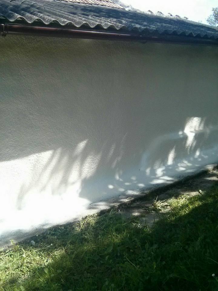 izolatie perete exterior cu spuma poliuretanica